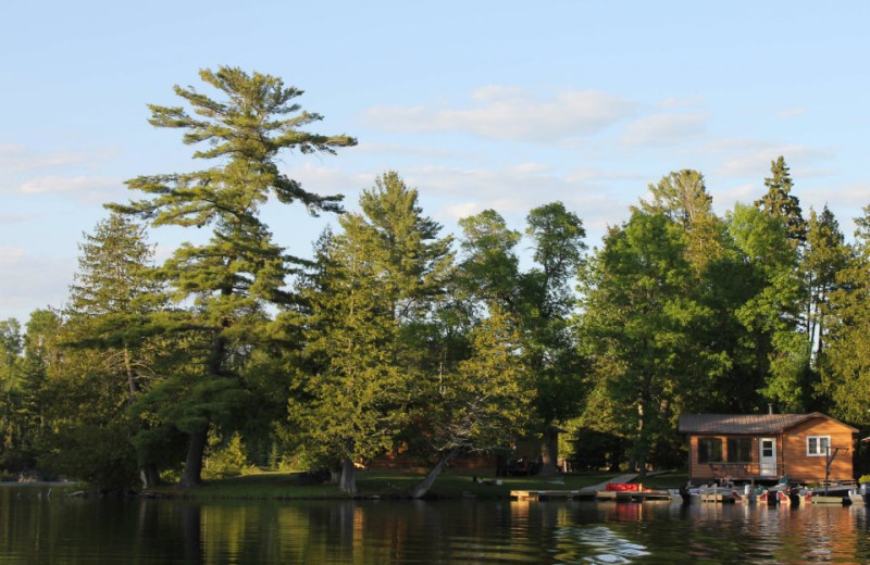 The Lake at Cedar Island Lodge