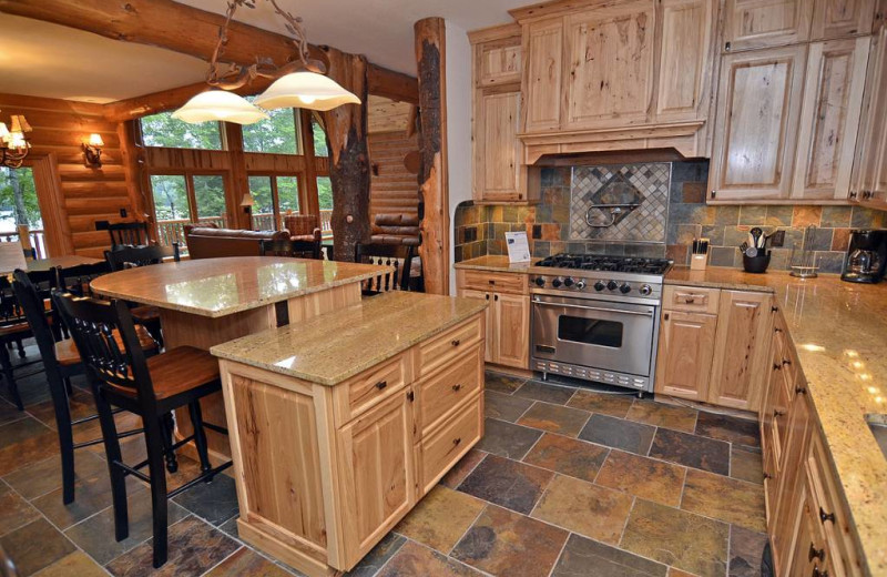 Rental kitchen at Recreational Rental Properties, Inc.