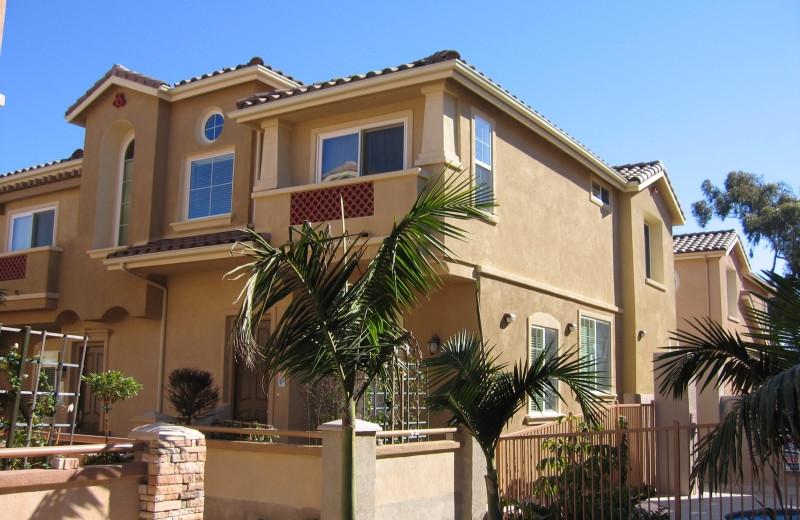 Exterior view of A Carlsbad Vacation Rental.