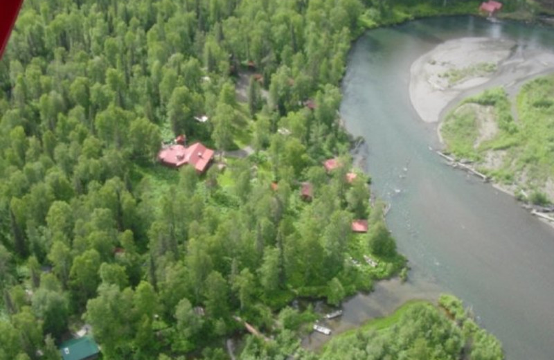 Arial View at Wilderness Place Lodge