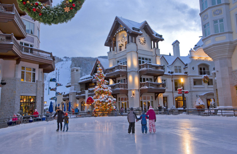 ice skating in vail colorado at skyrun vacation rentals vail colorado