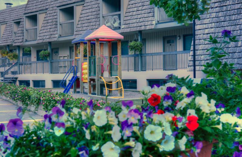 Playground at Tunnel Mountain Resort