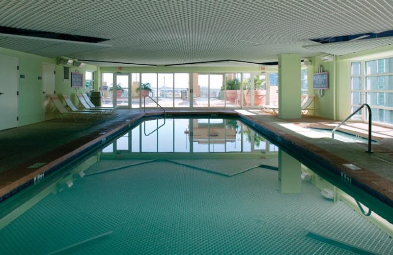 Indoor pool at Wyndham Ocean Boulevard.