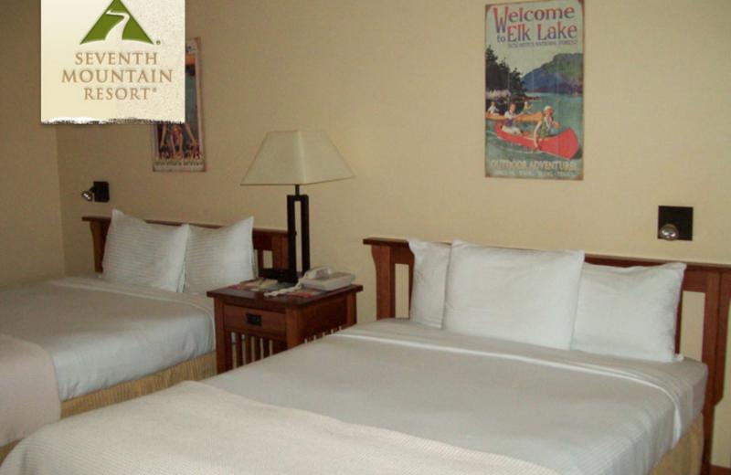 Condo Bedroom at Seventh Mountain Resort