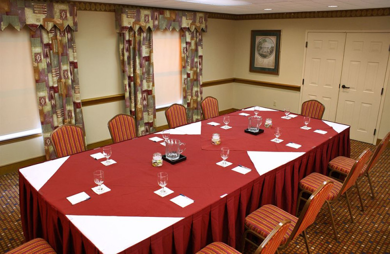 Meeting room at Homewood Suites by Hilton Ft. Myers Bell Tower Hotel.