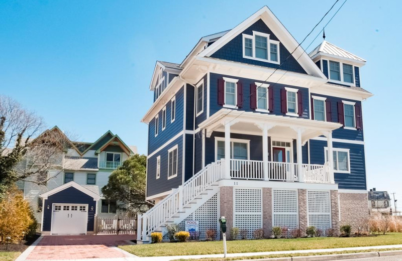 Rental exterior of Jersey Cape Realty.