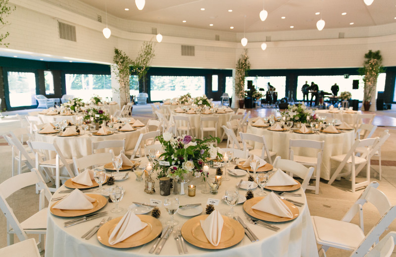 Wedding Reception at Point Lookout Resort and Conference Center