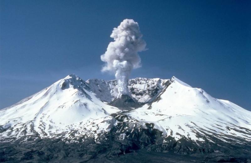 Volcano at Packwood Lodge.