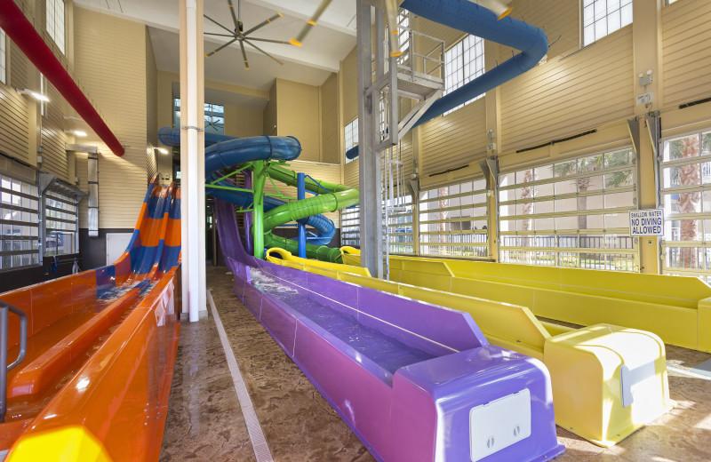 Indoor water park at The Breakers Resort.