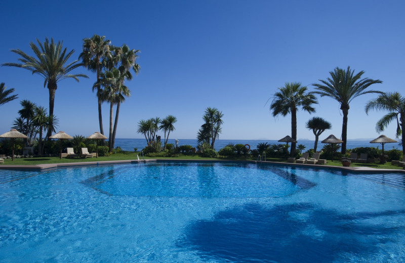 Outdoor pool at Las Dunas Beach Hotel and Spa.