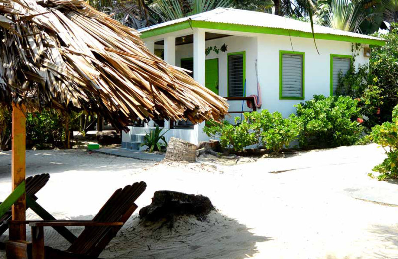 Exterior view of Ranguana Lodge and Reef Resort.