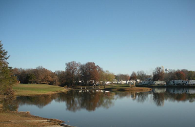 Exterior view at Mark Twain Landing.