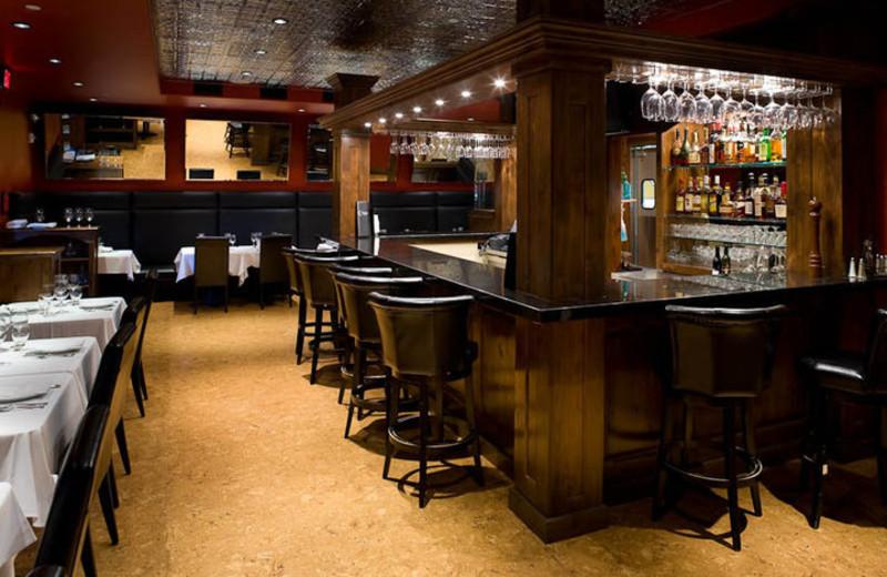 Dining room at White Buffalo Club.