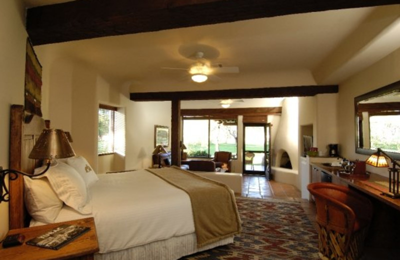 Hacienda King Suite at Tubac Golf Resort.
