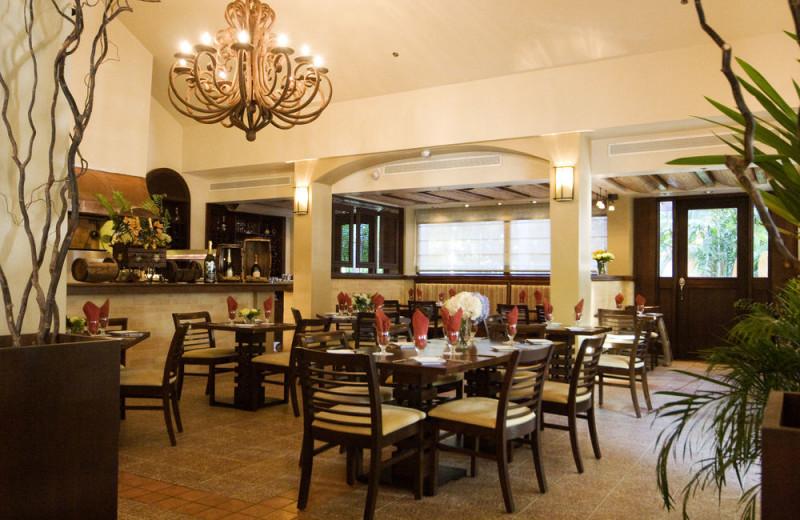 Dining at Rincon Beach Resort.