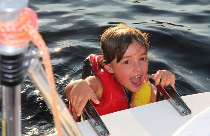 Water Fun at The Haus Lakefront Lodging