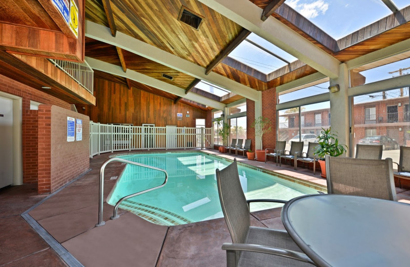 Indoor pool at Best Western Coral Hills.