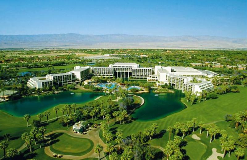 Aerial View of Marriott Desert Springs Resort