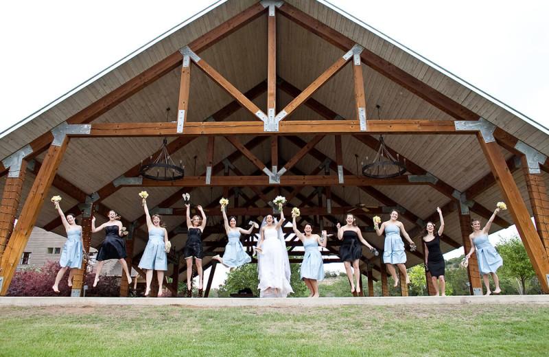 Wedding at The Retreat at Balcones Springs.
