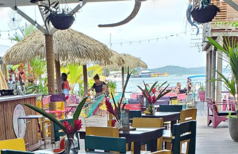 Dining near Bocas Bali Resort.