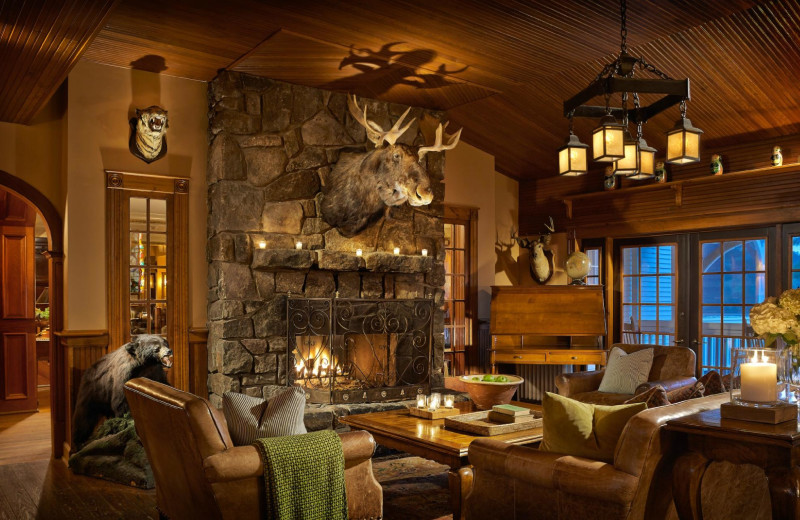 Lobby at Mirror Lake Inn Resort & Spa.