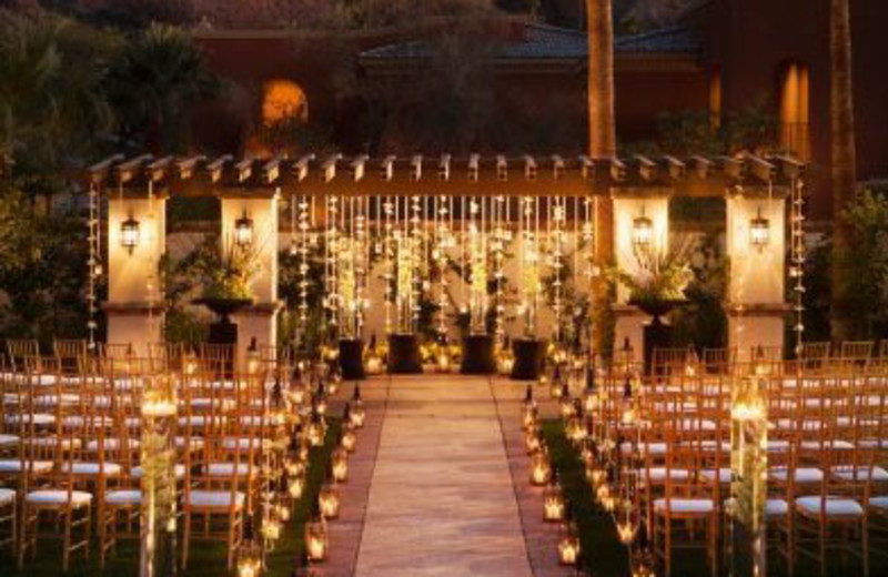 Outdoor Wedding at Montelucia Resort & Spa