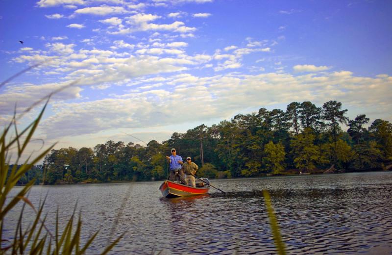 Fishing at Callaway Gardens.
