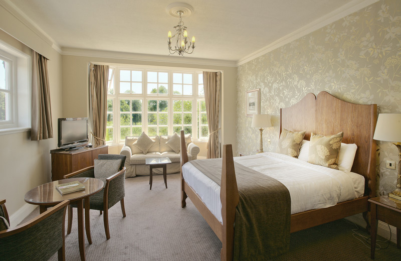 Guest room at Grovefield Hotel.