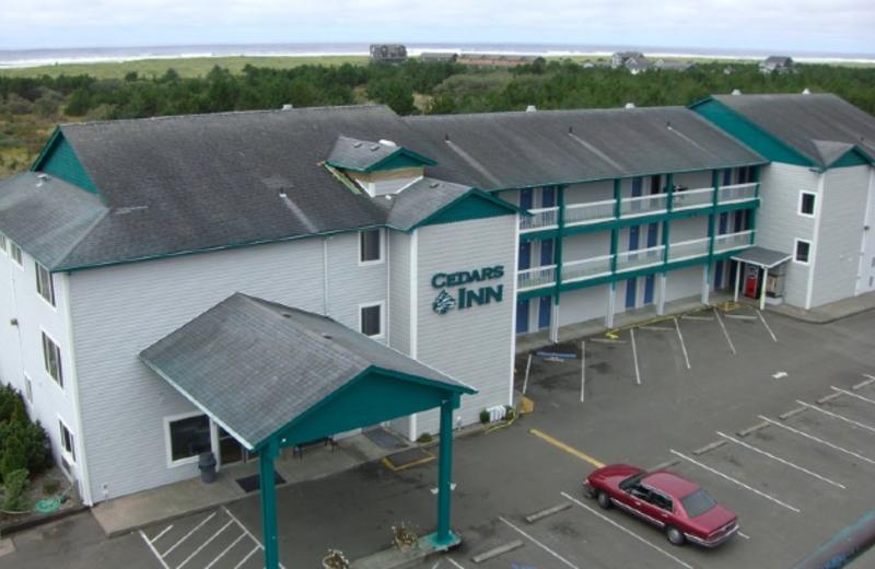 Exterior view of Cedars Ocean View Inn.