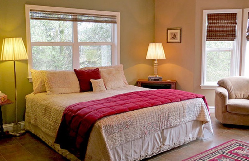 Guest room at Murphy's Vacation Rentals.