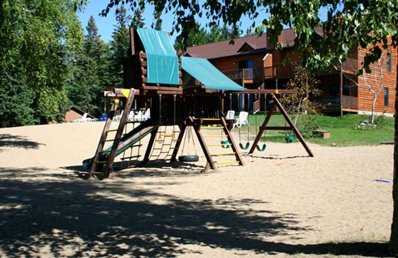 Playground at Timberlane Resort.