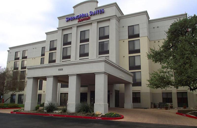 Exterior view of SpringHill Suites Austin Northwest.