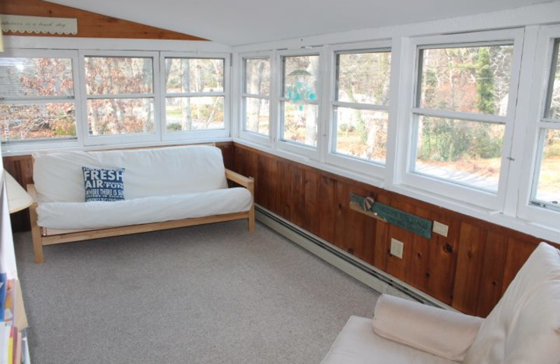 Rental porch at Hopper Real Estate.