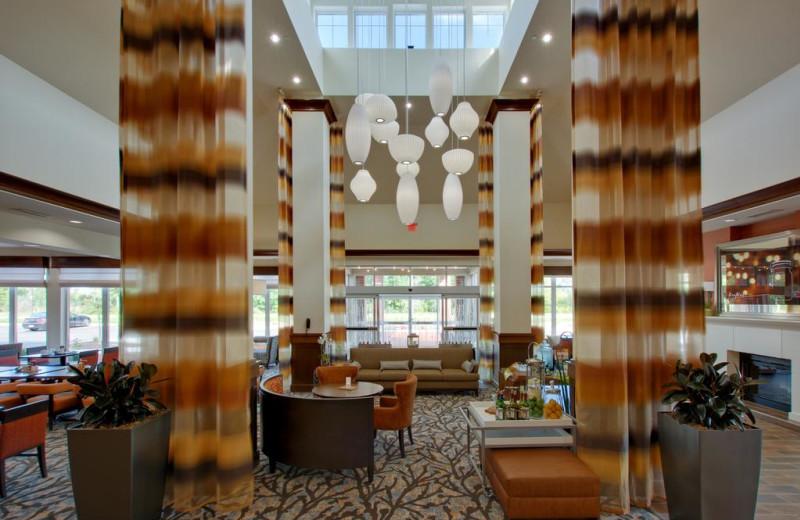 Lobby at Hilton Garden Inn - Benton Harbor.