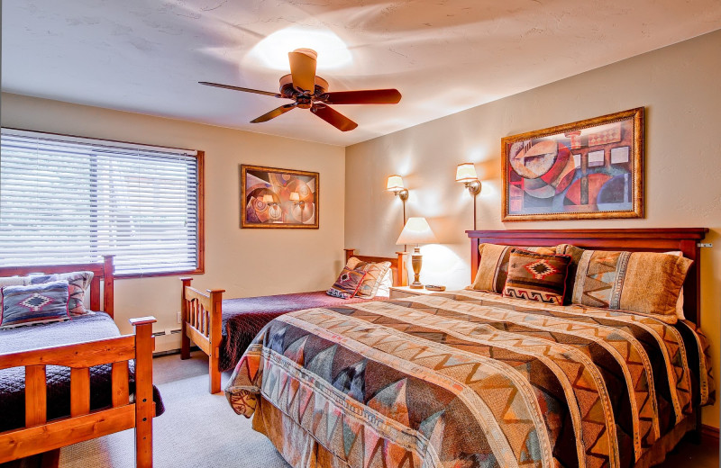 Rental bedroom at Shadowbrook Property Management.
