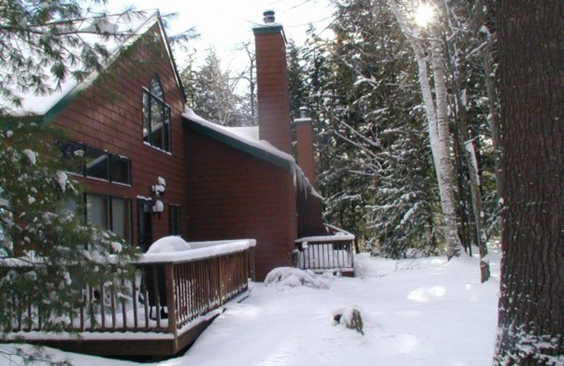 Winter time at Loon Reservation Service.