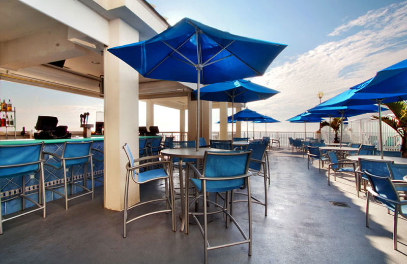The Mañana Mode Pool Bar and Grill at Hilton Suites Ocean City Oceanfront.
