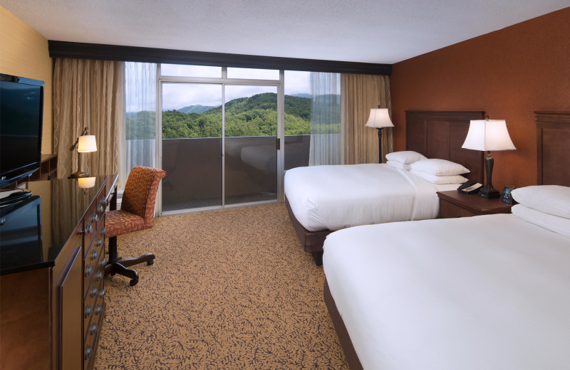 Guest room at Park Vista Resort Hotel.