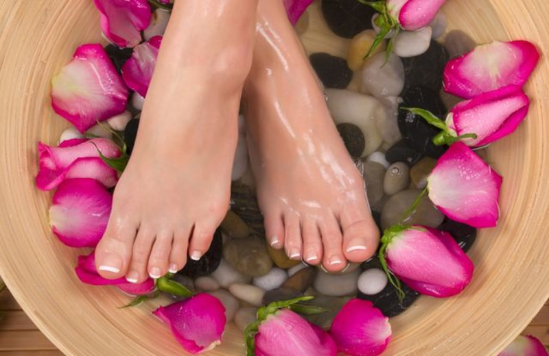 Pedicure at Eganridge Resort, Country Club & Spa.