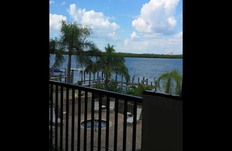 Balcony view of Sunrise Bay Resort & Club Condominium.