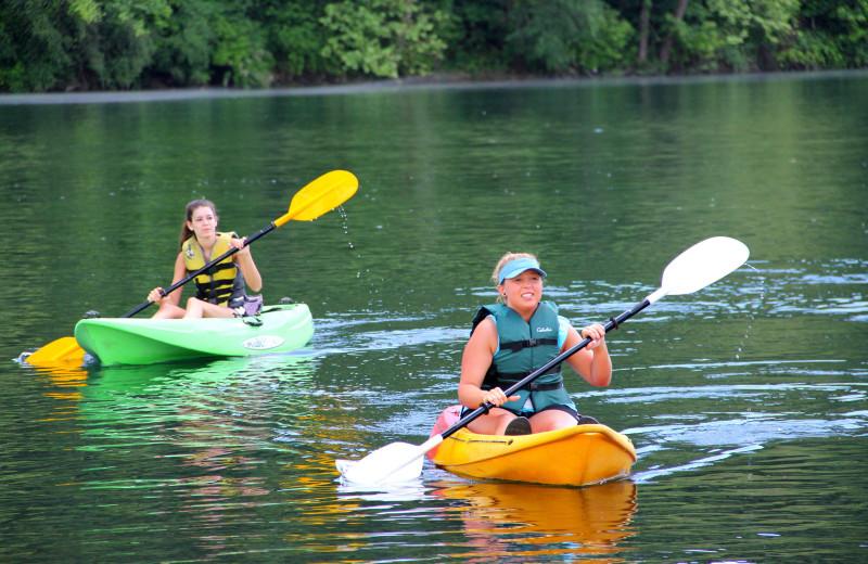 Kayaking at Indian Point.