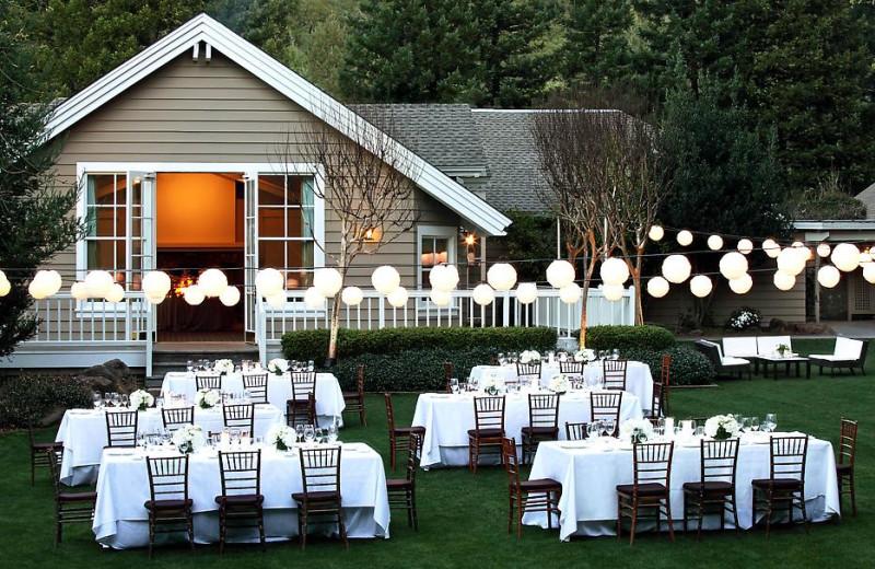 Wedding at Meadowood Napa Valley.