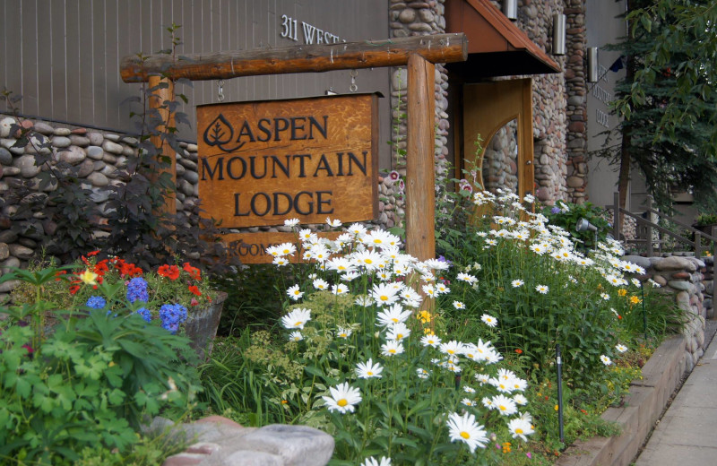 Aspen Mountain Lodge is located on Main Street in Aspen.