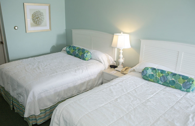Guest room at Anchorage Inn.