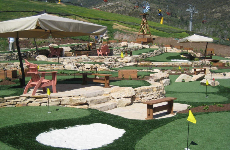 Mini golf near Grand Summit Resort Hotel.