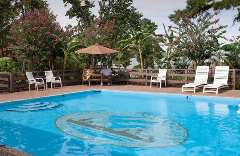 Outdoor pool at Mountain Harbor Resort & Spa.