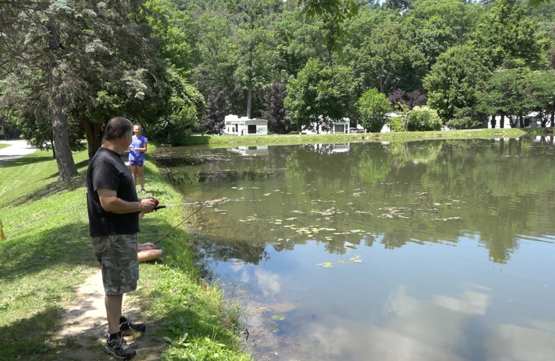 Lake at Yogi at Shangri-La - Jellystone Park.