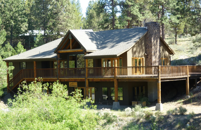 Exterior view of Rock Springs Guest Ranch.
