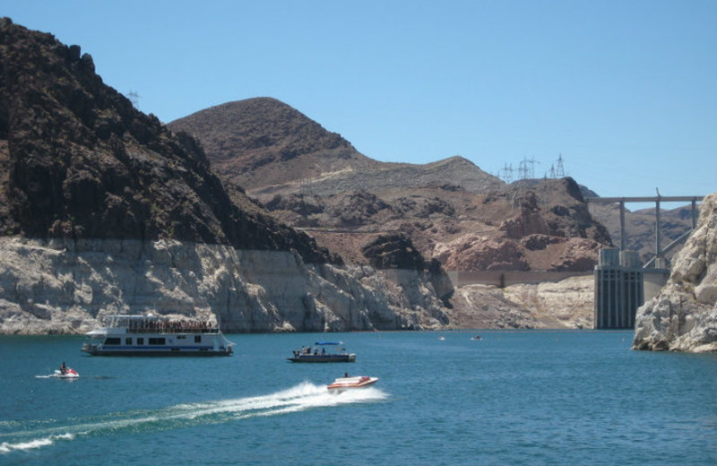 Boating at Callville Bay.
