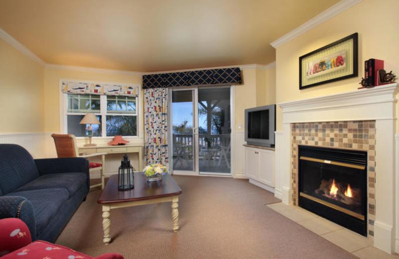 Living Room at Avila Lighthouse Suites